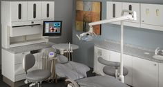 Preference Collection 5580 treatment console in dental operatory