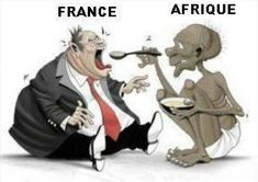 Did you know many African countries continue to pay colonial tax to France since their independence till today and They are obliged by France to put all they money into French...