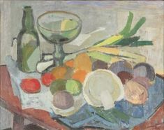 Tove Jansson (1914-2001)* Tove Jansson, Still Life, Modern, Kitchen, Painting, Art, Art Background, Trendy Tree, Cooking