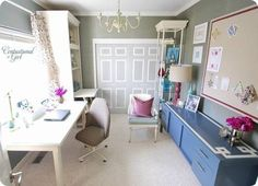 Centsational girl's blog home office redecorated