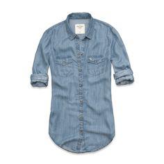 Womens Haven Denim Shirt