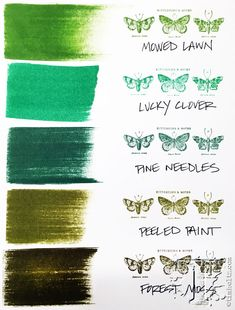 new distress for Nov 2015: lucky clover… | Tim Holtz