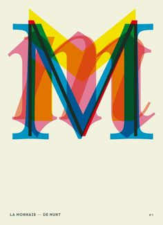 The initial «M» for money from «La Monnaie»