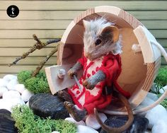 Mallymkun ook art doll Alice in Wonderland by IrisenOMW on Etsy