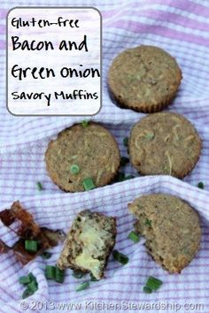 and Green Onion GF Muffins - Use a myriad of different gluten-free ...