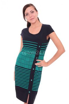 Платье темно-синее А7524 Размеры: 50-60 Цена: 750 руб.  http://optom24.ru/plate-temno-sinee-a7524/  #одежда #женщинам #платья #оптом24