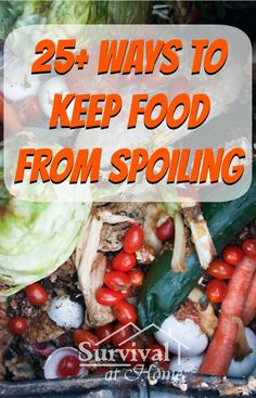 25+ Ways to Keep Food From Spoiling (via Survival at Home)
