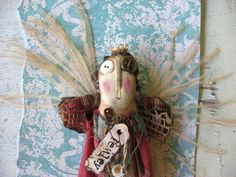 Lemley Fey by Baggaraggs on Etsy    Thankyou my dear loved Robin-I love my angel!