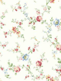 Vintage Cottage | Wallquest Wallpaper Book | Pattern #: MT 40103