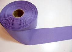 Wide Purple Ribbon, Medium Lavender Purple Grosgrain Ribbon 2 1/4 inches wide x 10 yards by GriffithGardens on Etsy