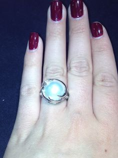 TGIF ! Mabe Pearl ring. Super in now! #Pearls #Gold #FMJ #TGIF #ChicagoJewelry