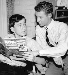 Eddie Haskell and the Beav