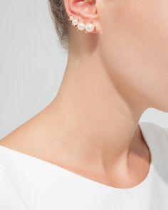 Pearl Luster Earrings - JewelMint