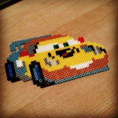 Cars hama beads by sonja.gortzakhughes
