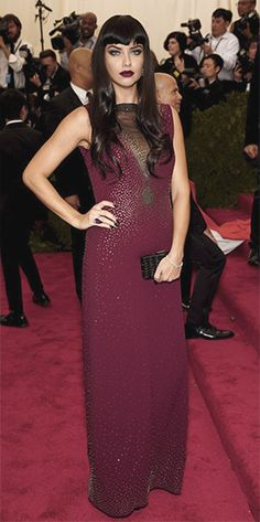 4/5/15 - Adriana Lima at the 2015 Met Gala, China: Through the Looking Glass