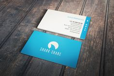 Shark Share Logo and Business Card | 99designs
