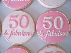 .Oh Sugar Events: Fifty and Fabulous