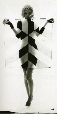 PATTERNITY_Marilyn Monocrhome_June 1962 for Vogue by Bert Stern