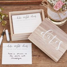 Date Box Ideen Hochzeit Brautpaar Geschenk You are in the right place about wedding games shoe Here we offer you the most beautiful pictures about the barn wedding games you are looking for. Rustic Wedding, Our Wedding, Wedding Venues, Jenga Wedding, Puzzle Wedding, Handmade Wedding, Personalized Wedding, Wedding Things, Godly Wedding