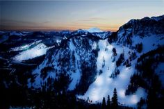 Summit at Snoqualmie, WA... miss skiing triple sixty and the bowl!