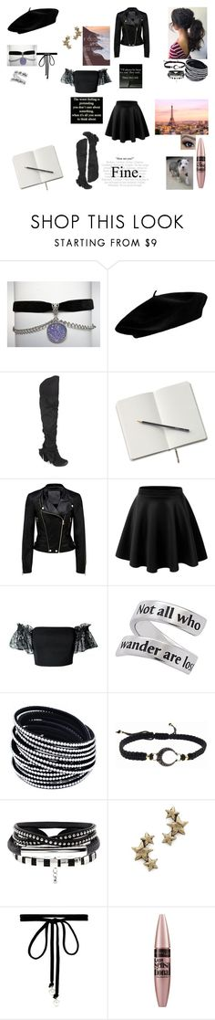 """Paris"" by wiggywiggy05 on Polyvore featuring Not Rated, Forever New, Plakinger, mizuki, Avant Garde Paris, Joomi Lim, Maybelline and Kirei"