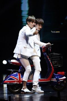 140808 Kai & D.O - AIMA MIX Bicycle Fanmeeting (cr. kaiser&dolly)