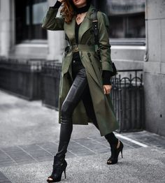 not your average trench