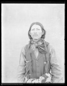 Jicarilla Apache man: