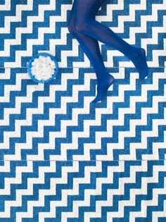 Chevron patterns have quite the leg up on other prints.