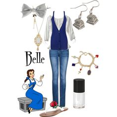 """""""Belle"""" by doryishness on Polyvore"""