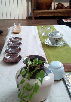 ceremonia del té sesión especial de verano, tea ceremony summer tea party