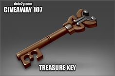 Giveaway 107 - Treasure Key I Love This Key!