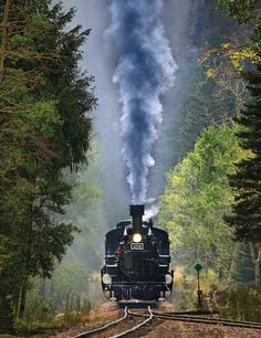 Iron Horse is one of Springbok's 500 Piece Jigsaw Puzzles for adults. This train puzzle features fully interlocking pieces. Locomotive Diesel, Steam Locomotive, Railroad Pictures, Old Trains, Vintage Trains, Train Art, Train Engines, Steam Engine, Train Tracks