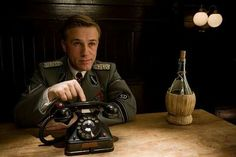 Christoph Waltz. Landa in Inglorious Basterds.