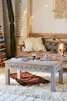 Boho Chic: Tables, etc