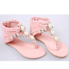 Little Big Pageant Flower Girl Kids Girls Party Pink Sandals Shoe Store  SKU-133010