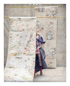 EZ (Lee Ji) for Vogue Korea May Photographed by Koo Bohn Chang