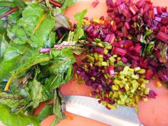 Avanti Cafe Musings: Beet Greens :: YES :: How To ::
