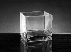 "5"" cube vase"