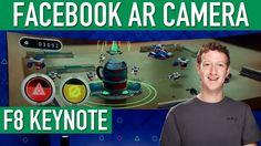 Facebook Mark Zuckerberg Augmented Reality Camera F8 Keynote