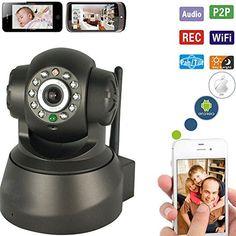 Wireless Network Baby Monitor Security IP Camera P2P Motion WIfi IR Night Vision