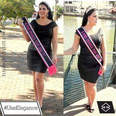 Coloque em suas fotos #UseElegance Miss Plus Size Franca