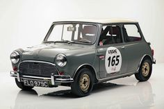 "There were only 2,384 ""true"" MK I Mini Cooper 1275 S models ever produced, of which 1,060 were built with right-hand drive for the UK and another 1,324 left-hand drive cars for export. While over a million Minis remain on the road today, only a handful are original Mini Coopers."