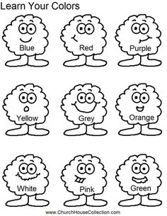 find this pin and more on learn arabic for kids learn your colors for preschool - Learning Colors Worksheets For Preschoolers