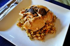 Sauteed Chicken with Asian Mushrooms {Via She Knows}
