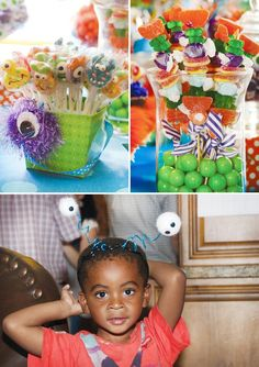 Modern & Colorful Monster Birthday Party // Hostess with the Mostess®