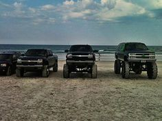 Trucks AND the beach?? What more could I ask for?!