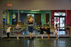 Pre-Ballet/Tap class - Fall 2012