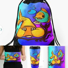 New products at Society6.com/allibeck & Redbubble.com/people/allibeck #art #travel #ocean #sea #fish #coffee #graphicdesign #design #illustration #abstract #popart #backtoschool #college #purse #bag #writing #tiedye #cartoons #rave #cartoon #edm #trippy #psychedelic #mixedmedia #gear #gym #mug