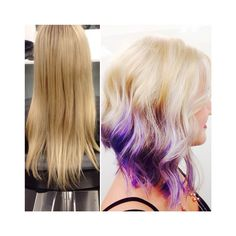 #CUTABOVELONDON Purple ombre! Hair by Meghan. Click the link to follow ✂️